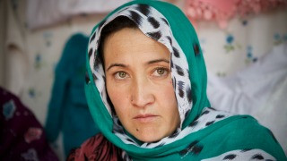 A Women for Women International programme participant in Afghanistan. Photo Credit: Rada Akbar