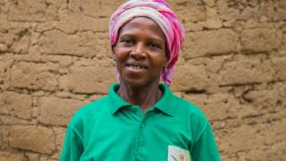 Monica, Women for Women International graduate in Nigeria. Photo: Monilekan