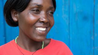 Women for Women International - Rwanda Programme Participant. Photo Credit: Hazel Thompson