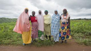 Die Absolventinnen des Programms von Women for Women International-Nigeria setzen sich für die Rechte der Frauen ein und leisten einen wichtigen Beitrag zur Friedensförderung. Foto: Monilekan