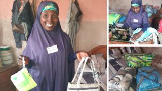 Hassana – 6 Monate im Women for Women International Programm angemeldet. Foto: Women for Women International