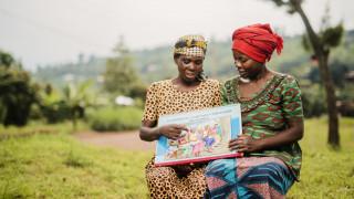 Teilnehmerinnen unseres Programms in Ruanda. Foto: Serrah Galos/WfWI