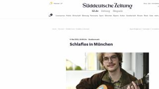 Straßenmusik: Schlaflos in München