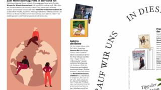 Zum Weltfrauentag: Hilfe in Wort und Tat